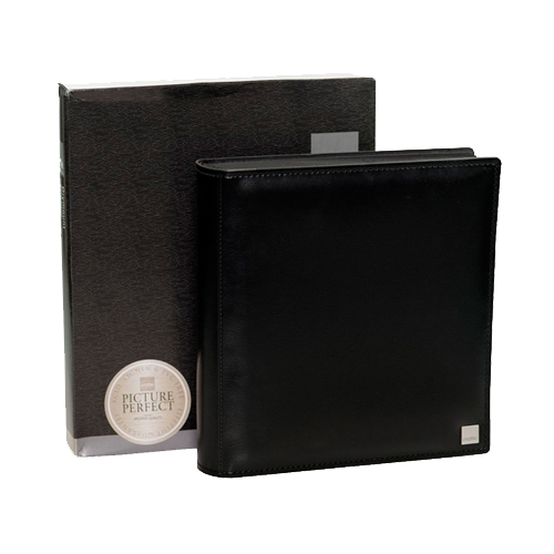 Prestige Drymount Album -  27 x 29cm - BLACK pages