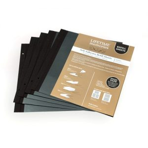 NCL SELF ADHESIVE ECONOMY SIZE REFILLS - 275 x 300mm - 5 pages (10 sides)