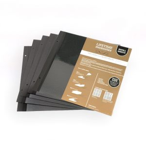 NCL SELF ADHESIVE SUPER JUMBO SIZE REFILLS - 335 x 325mm - 5 pages (10 sides)