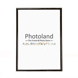 Black plastic frame - A4 (29.7 x 21cm) size - 1cm wide