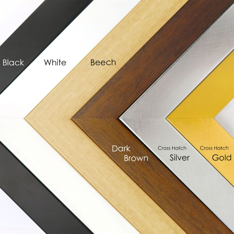 "Wooden frames - 8x10"" (20x25cm) size - 3cm wide (6 colours available)"