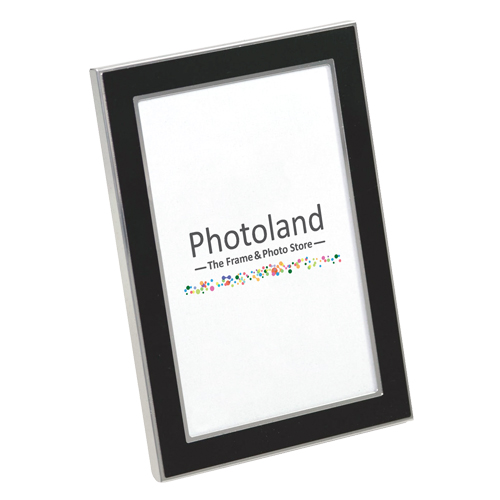 "Metal frames - 4x6"" (10x15cm) size - 1.7cm wide (black, white or silver)"