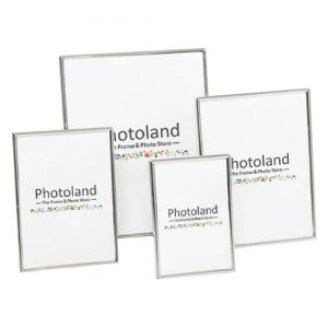 "Thin rounded metal frames - 2.5x3.5"" (6x9cm) size - 8mm wide (silver or gold)"